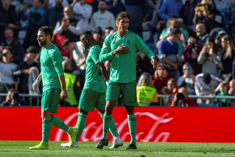 Varane et le Real Madrid n'ont pas tremblé. Twitter/@realmadrid