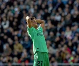 Rodrygo foi titular contra o Espanyol. EFE