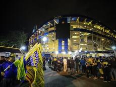 Las claves de las elecciones en Boca Juniors. EFE/Juan Ignacio Roncorini