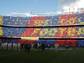 Bartomeu says 'El Clasico' is compatible with pro-independence protests. AFP
