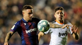 El Valencia remontó al Levante a domicilio. EFE