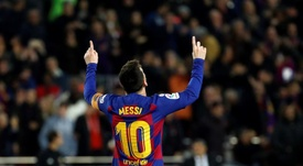 Un Messi en or abuse de Majorque. EFE