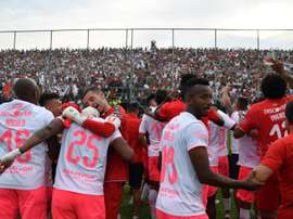Liga de Quito se cita en la final con Delfín. EFE