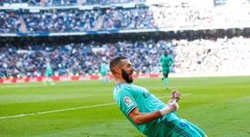 Benzema espera pacientemente la respuesta del tribunal francés. EFE
