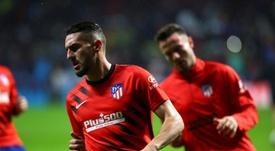 Koke e Giménez estão lesionados. EFE/Rodrigo Jiménez