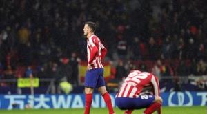 O United quer Saúl. EFE/Juanjo Martín/Archivo