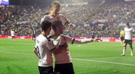 El Valencia espera blindar a Ferran Torres. EFE