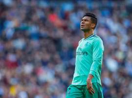Casemiro is a yellow away from suspension. EFE/Archivo