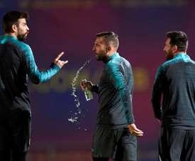 Les joueurs du Barça pourraient vivre une autre baisse de salaire. EFE
