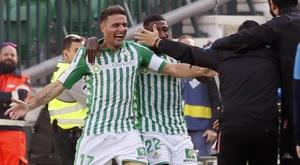 Joaquín a battu un record de Di Stéfano sur son premier hat trick. EFE