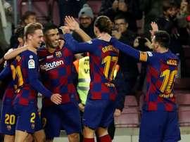 Valencia-Barça já tem data e hora. EFE/Toni Albir