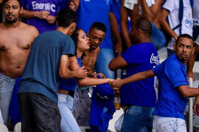 Cruzeiro podría perder 12 puntos antes de empezar en Serie B. EFE