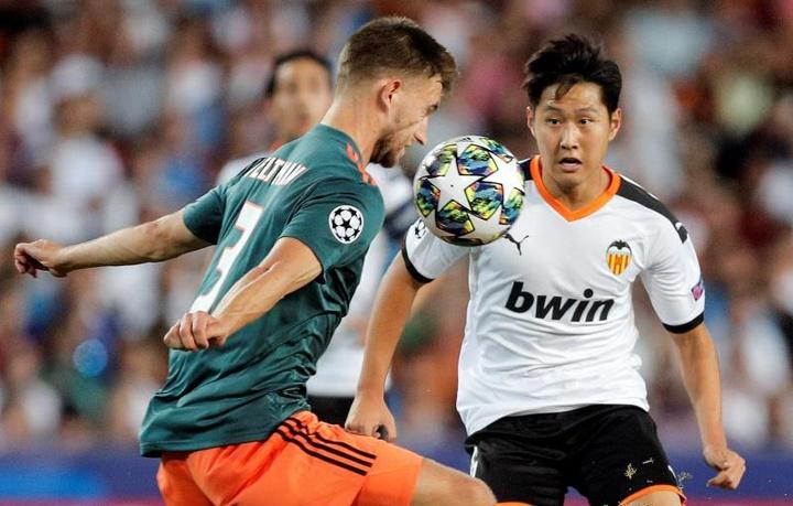 Kang-In Lee entra na mira da Sampdoria. AFP