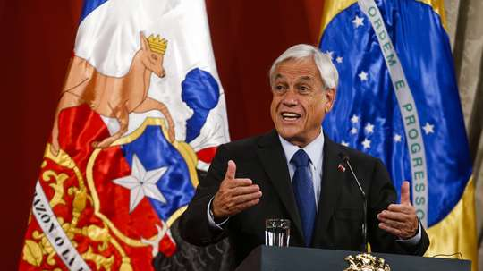 El presidente de Chile, Sebastián Piñera. EFE/Alberto Peña/Archivo