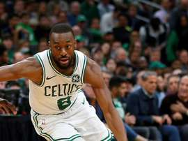El jugador de Boston Celtics, Kemba Walker. EFE/EPA/CJ GUNTHER/Archivo