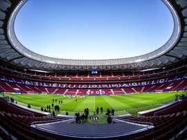 Escalações oficiais de Atlético e Osasuna.