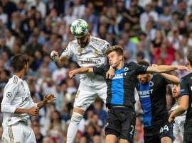 Real Madrid, a uma derrota de sua pior fase de grupos da história. EFE/Rodrigo Jiménez