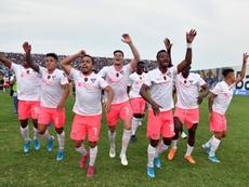 Liga de Quito, motivado en la búsqueda por el título. EFE
