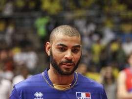 En la imagen, el jugador francés Earvin Ngapeth. EFE/Antonio Lacerda/Archivo