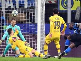 Le Baby Barça et Neto font couler l'Inter. EFE