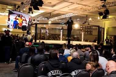 Imagen cedida por Talent Experts de evento ?MMA Experience? de eSports. EFE/Talent Experts