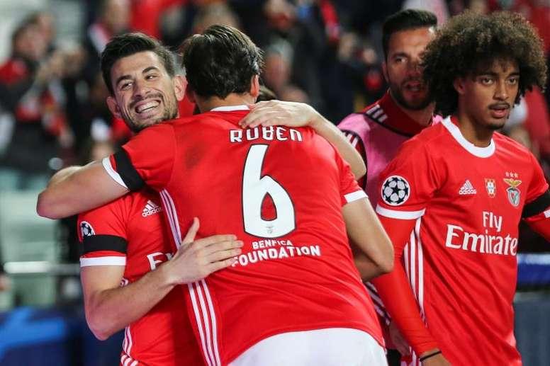 El Benfica gana; el Zenit llora. EFE