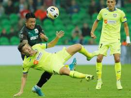 Cristian Ramírez lidera al Krasnodar. EFE