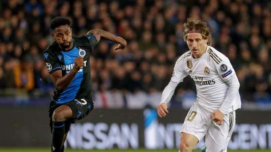 Madrid beat Club Brugge 1-3 in the last UCL Group Stage game. EFE