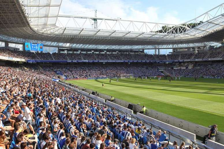 Recorde de pessoas no estádio da Real Sociedad. EFE/Javier Etxezarreta/Archivo