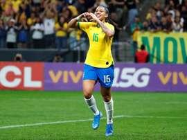 La Brasil endosa un 'set' a México: 6-0. EFE