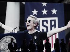 Estados Unidos lidera el ránking de selecciones femeninas. EFE/EPA