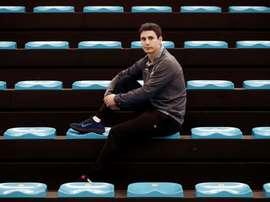 Julen Retegi, conocido en el mundo pelotazale como Retegi Bi, se retira del ámbito profesional y considera que descartar a los veteranos es un gran fallo de las empresas. EFE/ Jesús Diges