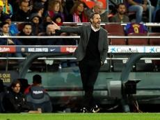Vicente Moreno analizó el duelo contra el Celta. EFE/Toni Albir/Archivo