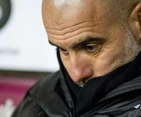 Pep Guardiola negó los rumores. EFE/EPA/Archivo