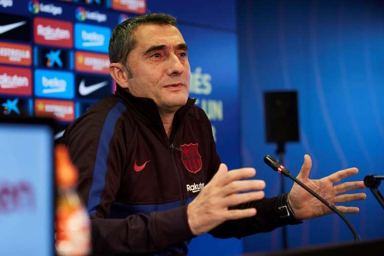 Ernesto Valverde is in a difficult situation. EFE