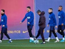 Valverde convocó a 19 futbolistas. EFE/AlejandroGarcía