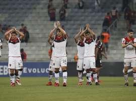 Arsenal y Newell's siguen a la caza de la Libertadores. EFE/Hedeson Alves/Archivo