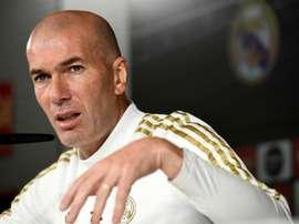 Zidane no quiere saber nada del 'Clásico' hasta que llegue la fecha. EFE