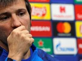 Celades analizó el duelo contra el Madrid. EFE/Archivo