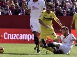 Sevilla y Villarreal se vean las caras. EFE