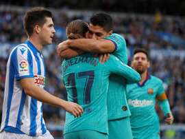 Martínez voit Griezmann réussir au Barça. EFE