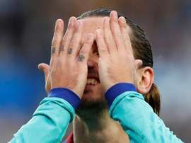 Griezmann analizó el empate. EFE