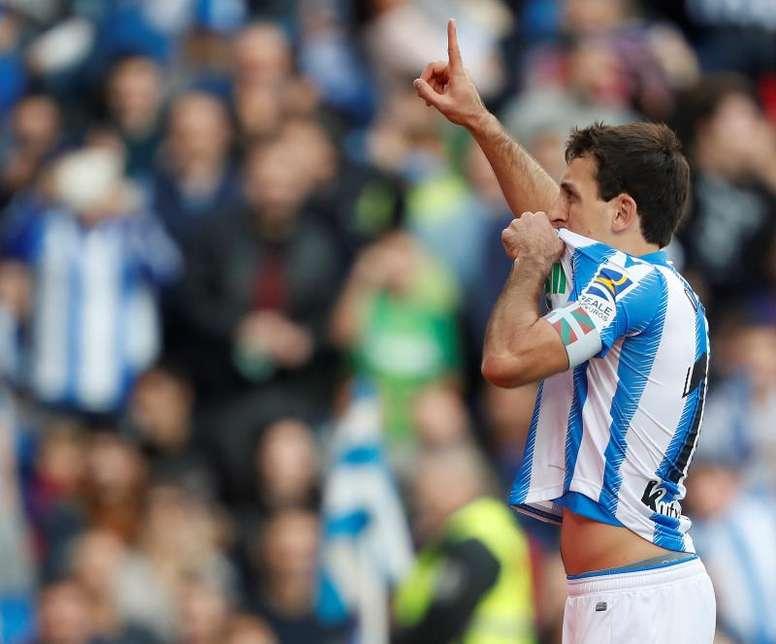 Oyarzabal is on United's agenda. EFE/Juan Herrero