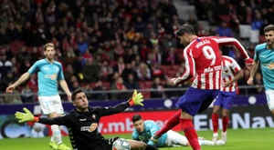 Atletico bate o Osasuna por 2 a 0 no Wanda Metropolitano. EFE/Juanjo Martín