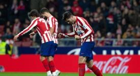 Morata le quitó importancia a la autoría del gol. EFE/Rodrigo Jiménez