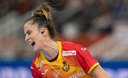 La jugadora española Nerea Pena Abaurrea durante el partido. EFE/EPA/Hiroshi Yamamura