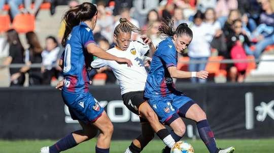El Valencia no quiere dejar ni un punto por el camino. EFE