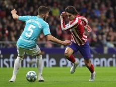El Atlético cuajó un gran partido ante Osasuna. EFE