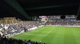 Rayo Vallecano versus Albacete was abandoned at half-time. EFE