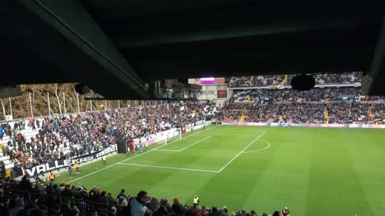 Rayo Vallecano versus Albacete was abandoned at half-time. EFE